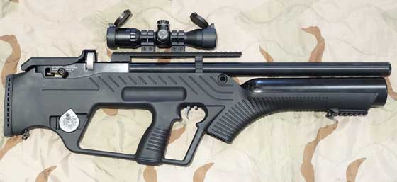 Hatsan BullMaster scoped