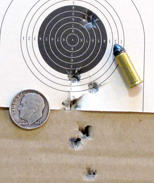 new Remington 10 meter target