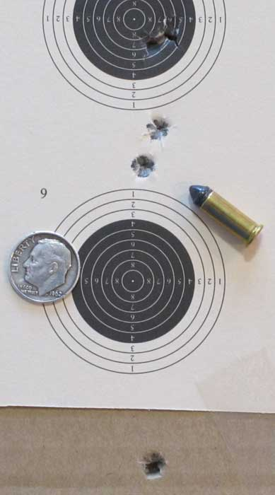 new Remington old bolt 10 meter target
