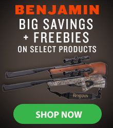 Benjamin Airgun with Freebies