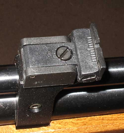 Seneca Dragonfly rear sight