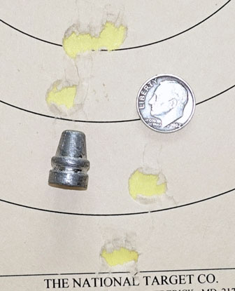 210 grain bullet in TexanSS