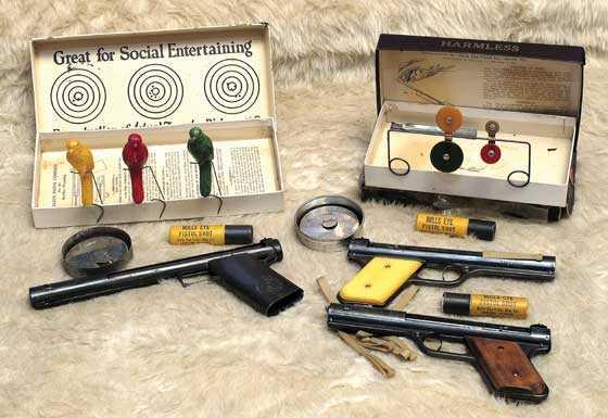 Sharpshooter pistols