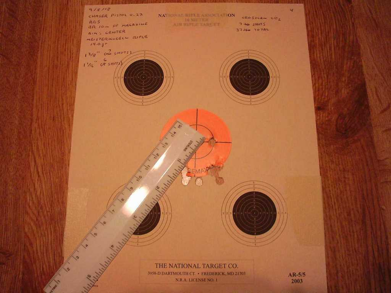 Diana Chaser air pistol: Part 3 | Air gun blog - Pyramyd Air