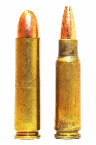 Spitfire and 30 caliber Carbine cartridges