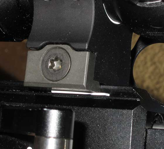 Seneca Aspen PCP scope ring shim