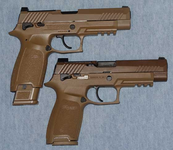 Sig M17 two pistols