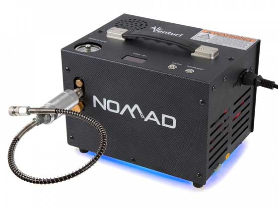 Nomad II air compressor