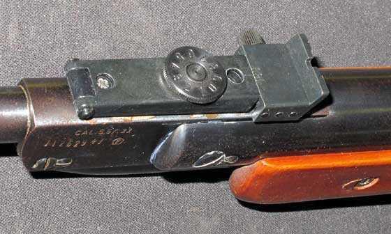 Diana 27 rear sight