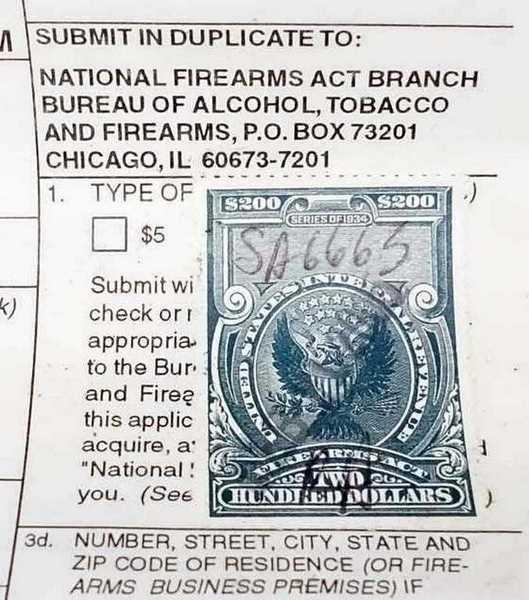 silencer stamp