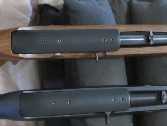 10/22 tops of 2 rifles