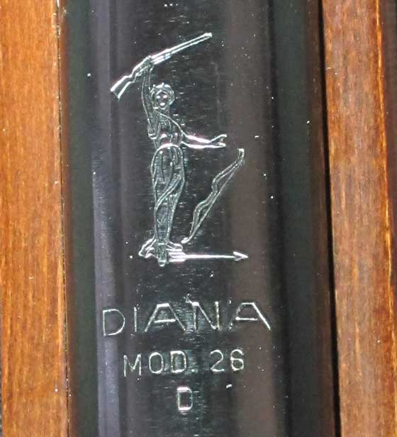Diana 26 model markings