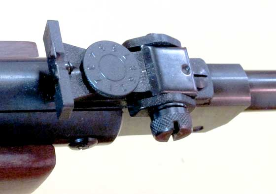 Diana 26 rear sight