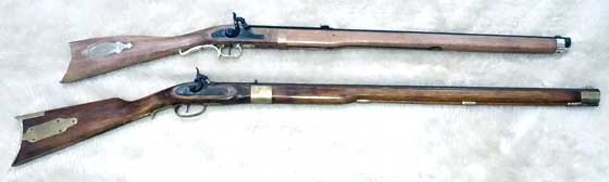 Pioneer 76 with Miroku rifle