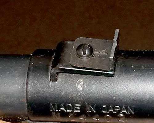 Pioneer 76 rear sight