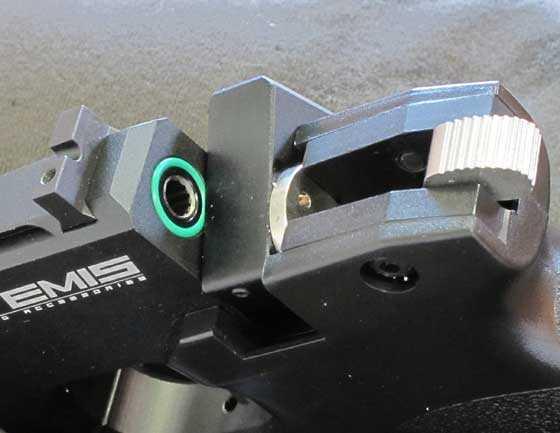 Artemis hammer back breech open