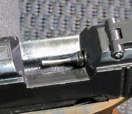 S&W bolt probe