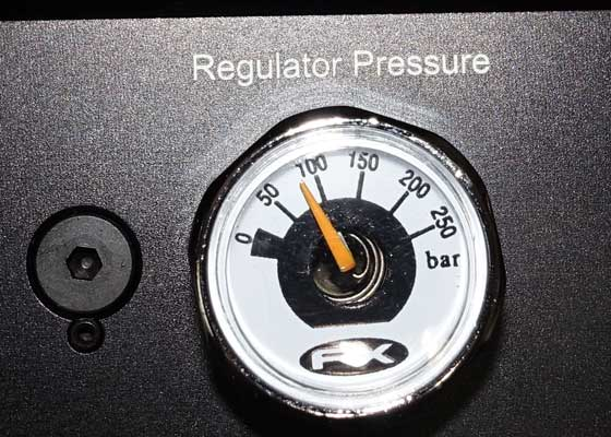 FX Dreamlite regulator gauge