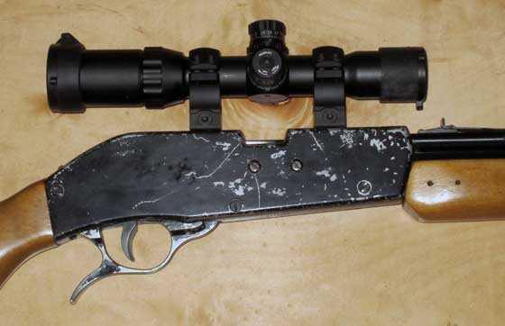 SW 77A scoped