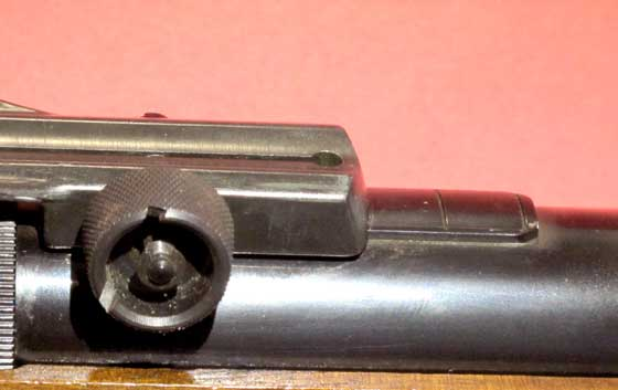Walther LGV Olympia scope rail