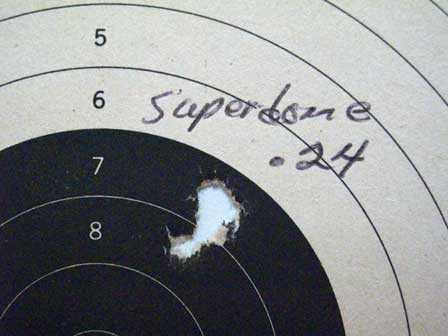 397 target 25 yards
