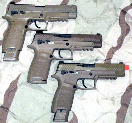 Sig M17 3 guns