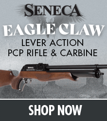 Seneca Eagle Claw Lever Action PCP Air Rifle