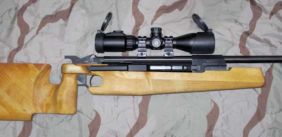 UTG 2-7X44 Scout Scope on MP532