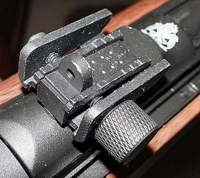 Springfield Armory Carbine rear sight