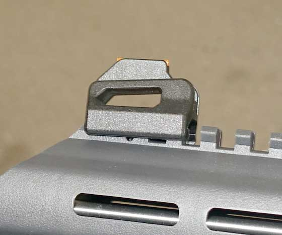Air Javelin front sight on