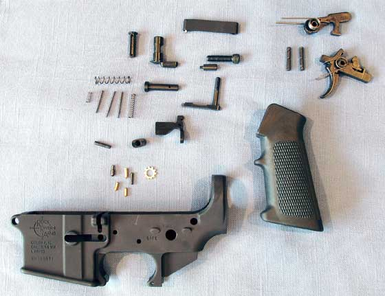 Crosman MAR lower parts