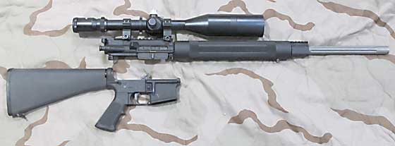 Crosman MAR AR apart