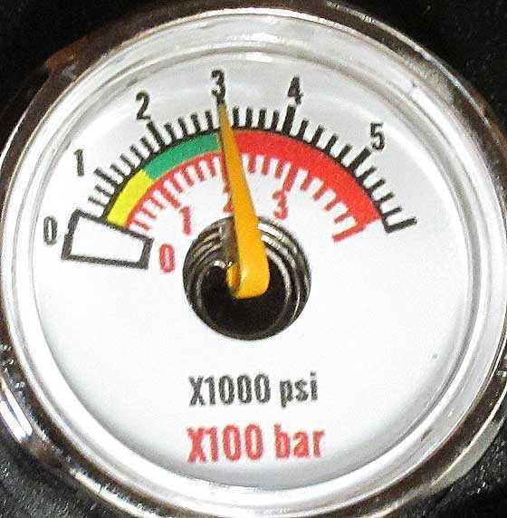 Avenger reg gauge