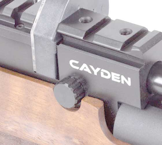 Cayden power adjuster knob