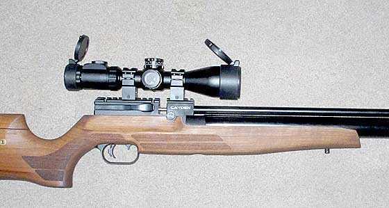 Cayden scoped