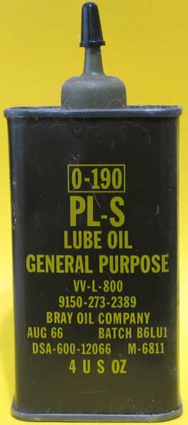 Army oil