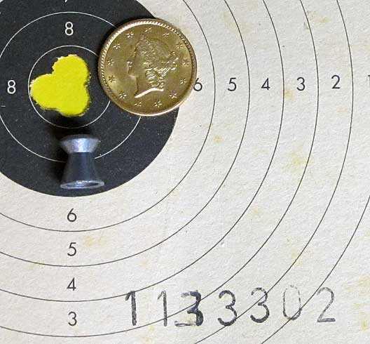 Marksman 70 test target