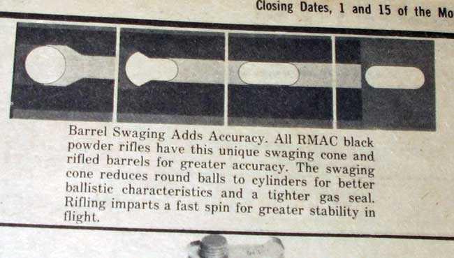RMAC Swaged ball