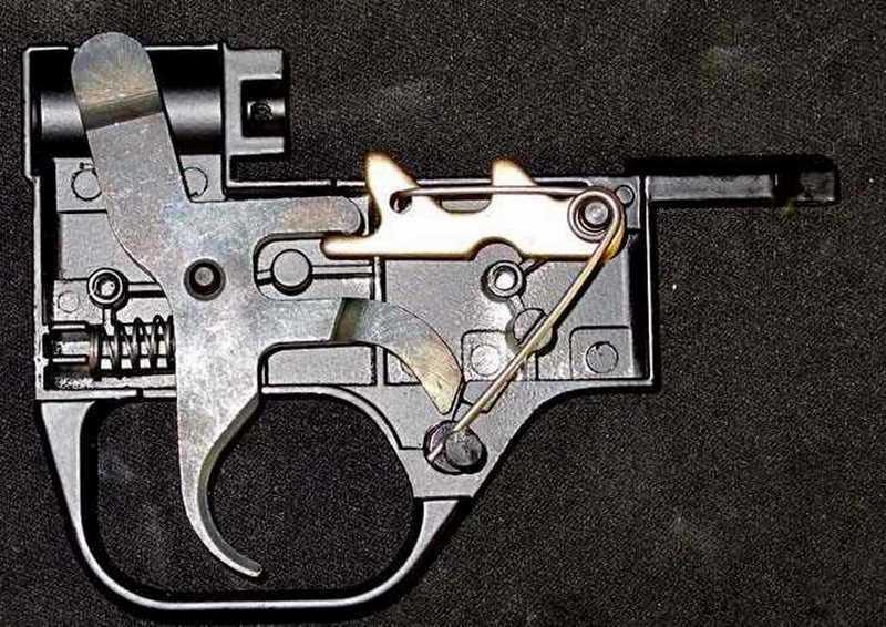 397 trigger inside assembled