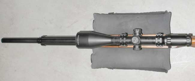 Eagle Claw scope alignment