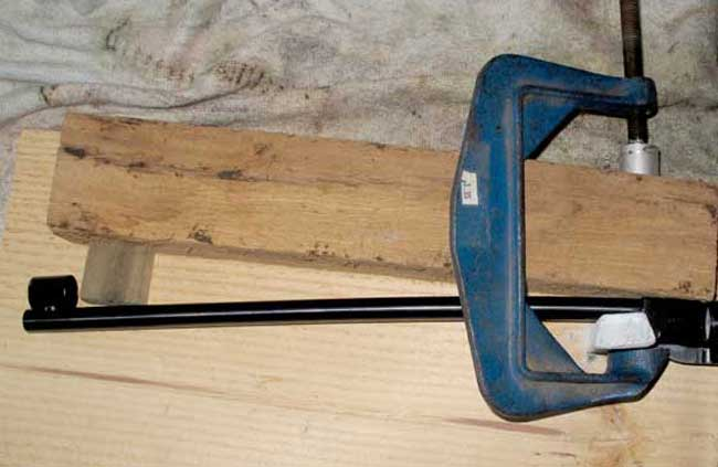 barrel bending jig