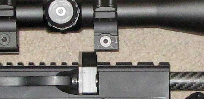 RAW HM1000 scope clearance
