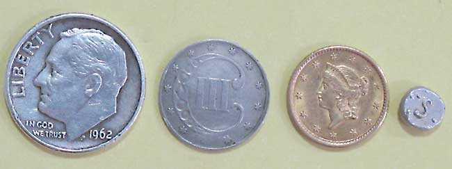 RAW HM 1000X coins