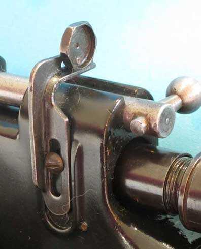 rear sight detail