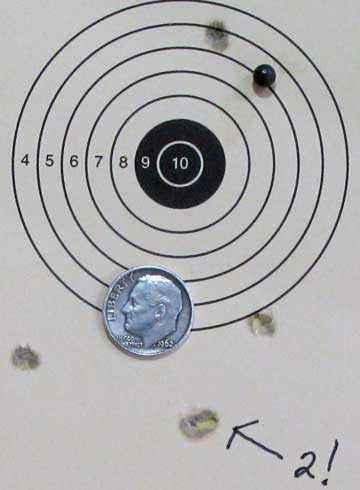 Beeman target 5 meters