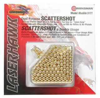 Marksman Laserhawk .177 Cal Steel Shot, Plated, 750 Pcs