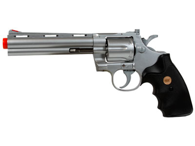 938 UHC 6 inch revolver, Silver