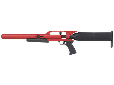 2011 AirForce Talon SS PCP Air Rifle, Red