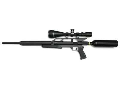 AirForce Condor CO2, 12-oz. CO2 tank, Scoped