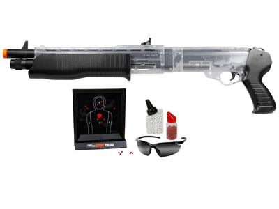 Franchi Stunt Police Spring Shotgun 44 Kit , Clear